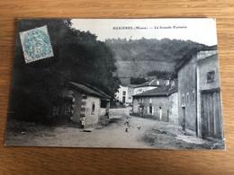 CP Carte Postale Ancienne Buxières Meuse Buxières-sous-les-Côtes La Grande Fontaine - Commercy