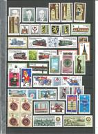 LOT RDA NEUFS 1984 1985 1990 - Colecciones (sin álbumes)