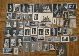 PEYRE RAPHAEL CHARLES SCULPTEUR NE ET DCD A PARIS ELEVE DE FALGUIERE BARRAU MERCIE - ARCHIVES LOT DE PHOTOS - Famous People