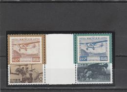 Japon Yvert 2184 Et 2185 ** Neufs Sans Charnière Avec Pont - Avion - Ungebraucht