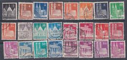 Allemagne Bizone N° 41 / 64  O Monuments, La Série Des 24 Valeurs Oblitérées, TB - Zona Anglo-Americana