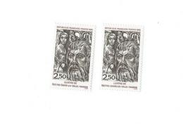 2404 A Double Frappe - 1 Normal Livré Prix  Très Bas - Curiosities: 1970-79 Mint/hinged