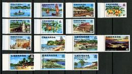 GRENADE 1980 N° 890/896 898/904 ** Neufs MNH Superbes C 22,70 € Bateaux Boats Yacht Sailboats Révolution Flore Cacao - Grenada (1974-...)