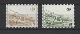 BELGIQUE.  YT  Colis Postaux N° 423/424  Neuf *  1972 - 1952-....