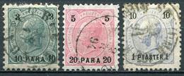 Osterreich Post In Der Levante Nr.21/3               O  Used              (3670) - Eastern Austria