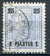 Osterreich Post In Der Levante Nr.34 A               O  Used              (3671) - Eastern Austria