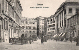 GENOVA - PIAZZA FONTANE MAROSE - NON VIAGGIATA - Genova (Genoa)