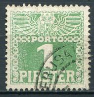 Osterreich Post In Der Levante Porto Nr.8               O  Used              (3683) - Eastern Austria