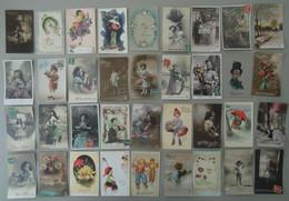 Lot De Plus De 250 Cartes Postales : Nouvelle An, Bonne Année, Noel, Fêtes, Anniversaire - Unclassified