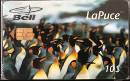 CANADA  -  Phonecard  -  Bell - LaPuce  - Manchots  -  10 $ - Canada