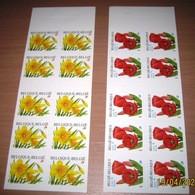 Boekjes 39/40 (3046/47**) Rode Tulp & Narcis(Tulips Rouges+Narcisses) Zelfklevend/ Autocollant / Adhesif / MNH** - Carnets 1953-....