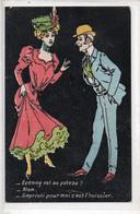 Cartolina Francese HUMOR - 2- NON VIAGGIATA - Humor
