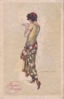 Buona Pasqua, T. Corbella, Illustratore, Viaggiata 1924 - Pasen