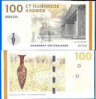 Danemark 100 Couronnes 2009 Pont Bridge Kroner Que Prix + Port Banknote Danmarks Danmark Paypal Bitcoin OK - Denmark