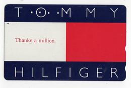 TELECARTE JAPON MODE TOMMY HILFIGER Styliste Américain, Créateur De La Marque De Prêt-à-porter - Moda