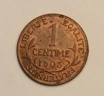 SUPERBE 1 Centime - Dupuis - 1903 - En Achat Immédiat - A. 1 Centime