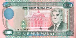 Turkmenistan 1.000 Manat, P-8 (1995) - UNC - Turkmenistan
