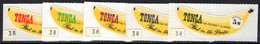 Tonga 1969 Banana Coils Stamps Unmounted Mint. - Tonga (...-1970)