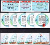 Tonga 1972 Minerva Reefs Unmounted Mint. - Tonga (1970-...)