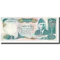 Billet, Pakistan, 500 Rupees, KM:42, NEUF - Pakistan