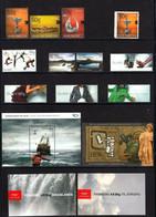 2012 - ISLANDA / ICELAND - ANNATA COMPLETA / COMPLETE YEAR. MNH - Volledig Jaar