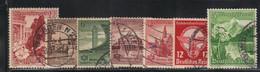 Allemagne 1938/39 Yvert 608/11 618 621 631 Oblitérés (AC129) - Used Stamps