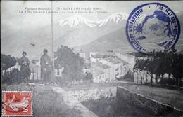 G 14    Carte Voyagée Mont Louis Cachet Armée - Guerra De 1914-18