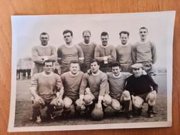Moedige Duvels Halen 1962-1963 - Kampioen Eerste Provinciale Fotokaart Met Namen Achterzijde - Soccer