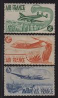 Vignette -  Air France - Lot De 3 Vignettes Differentes - ** Neufs Sans Charniere - Aviation