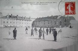 G 14    Carte Voyagée Mont Louis - Guerra De 1914-18