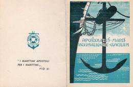 Tessera - APOSTOLATUS MARIS Delegazione Diocesana Di NAPOLI 1959 - Non Classés