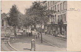Liège - Boulevard Saucy - Animé - Edition Heintz-Jadoul - Liege