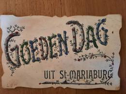 Goedendag Uit Sint-Mariaburg Ekeren - Verzonden In 1907 - Brasschaat