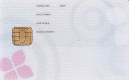 USA - ID Card, Atlantic Zeiser Demo Card - Other
