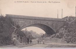 62 Avion Pont Du Chemin De Fer Rue Prudhomme - Avion