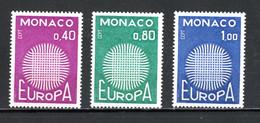 Monaco   Y&T   819 - 821   XX   ---   Europa  -  Parfait état. - Unused Stamps
