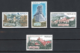Monaco   Y&T   851 - 854   XX   ---   Protection Monuments Historiques  --  Parfait état. - Unused Stamps