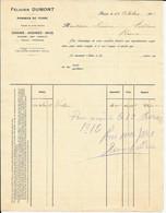 ROUX     -  Félicien Dumont  (  Pommes De Terre , Grains , … ) 1911 - Lebensmittel