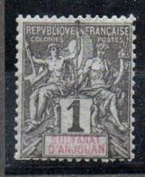 Anjouan: Yvert N° 1**; MNH - Unused Stamps