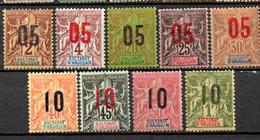 Anjouan: Yvert N° 20/30*;  Le 27(*) - Unused Stamps