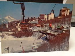 Cartolina Appennino Reggiano Lago Del Cerreto Prov Reggio Emilia Skilift Paesaggio Invernale 1973 - Reggio Nell'Emilia
