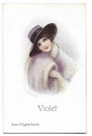 ILLUSTRATEUR   Femme Beauté Anglaise - Andere Illustrators