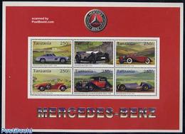 Tanzania 1996 Mercedes Benz 6v M/s, (Mint NH), Transport - Automobiles - Sport - Golf - Golf