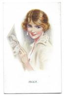 ILLUSTRATEUR  M.Horsfall   Femme Beauté Anglaise - Andere Illustrators