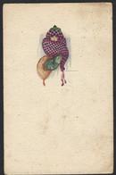 Donna Con Cappello E Sciarpa Invernali - Italia 1922 - - 1900-1949