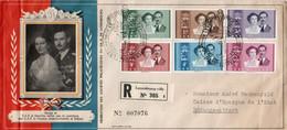 LUXEMBOURG - Enveloppe Recommandé Avec Timbre Recommandé N° 305 - Lettres & Documents