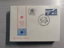 1974 FDC 100 Jahre Weltpostverein MiNr: 1466-1467 - FDC
