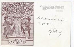 MILITARI Lega Nazionale Viaggiata Trieste  Anno 1904 - Other