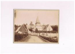 27 PHOTO 1880 MENNEVAL  EGLISE - Otros Municipios