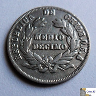 CHILE - 1/2 Décimo - 1888 - Chile